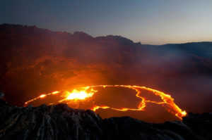Check it out the new erta ale volcano